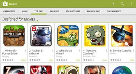 baixar Play Store para Tablet