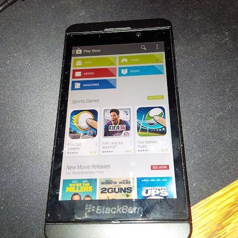 baixar play store para blackberry