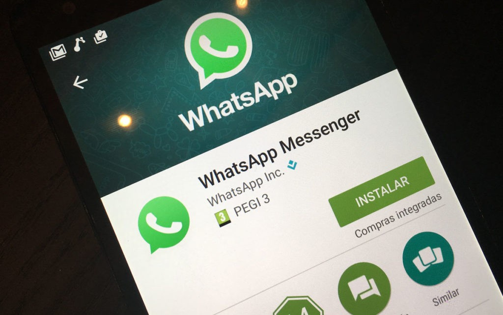 Baixar WhatsApp pela Play Store