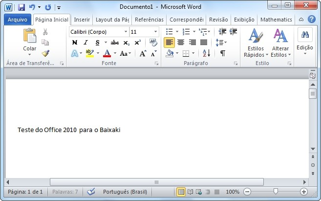 baixar word 2010